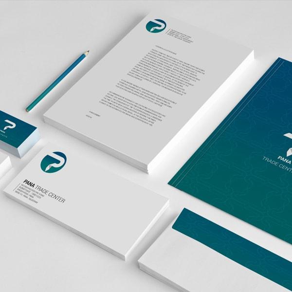 طراحی هویت سازمانی برند سازی استودیو طراحی اسنقی