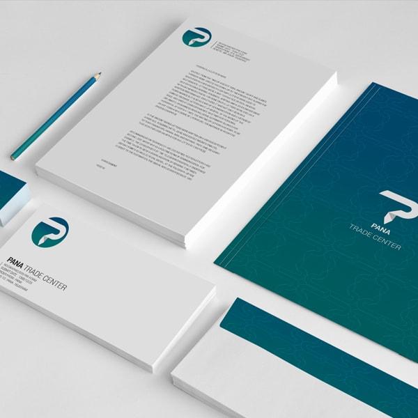 طراحی مجموعه اوراق اداری پانا - استودیو طراحی اسنقی